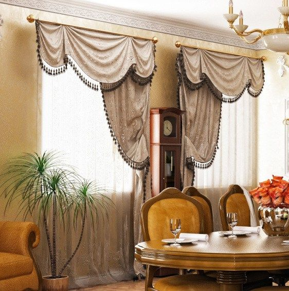 Exceptionnel Formal Dining Room Window Treatments   Traditional Ideas To Try Today  #valances #windowtreatments