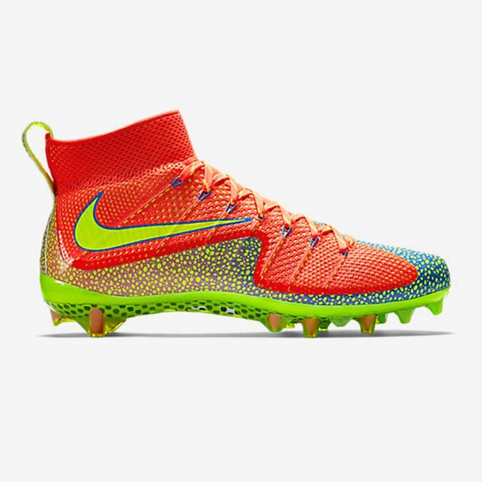 #LacrosseUnlimited New #Nike Vapor Untouchable in Crimson/Volt, Hottest  Cleats Of The. Football BootsSoccer ...