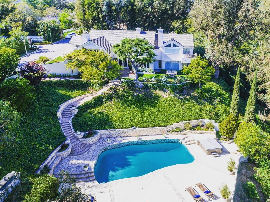 A private oasis in BelAir! 1100Casiano is a beautiful