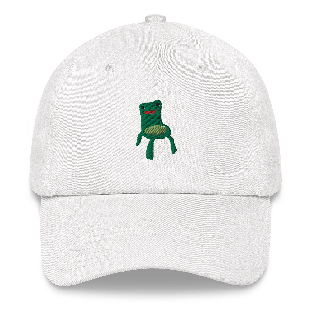 Froggy Chair Hat In 2020 Dad Hats Hats Geek Clothes