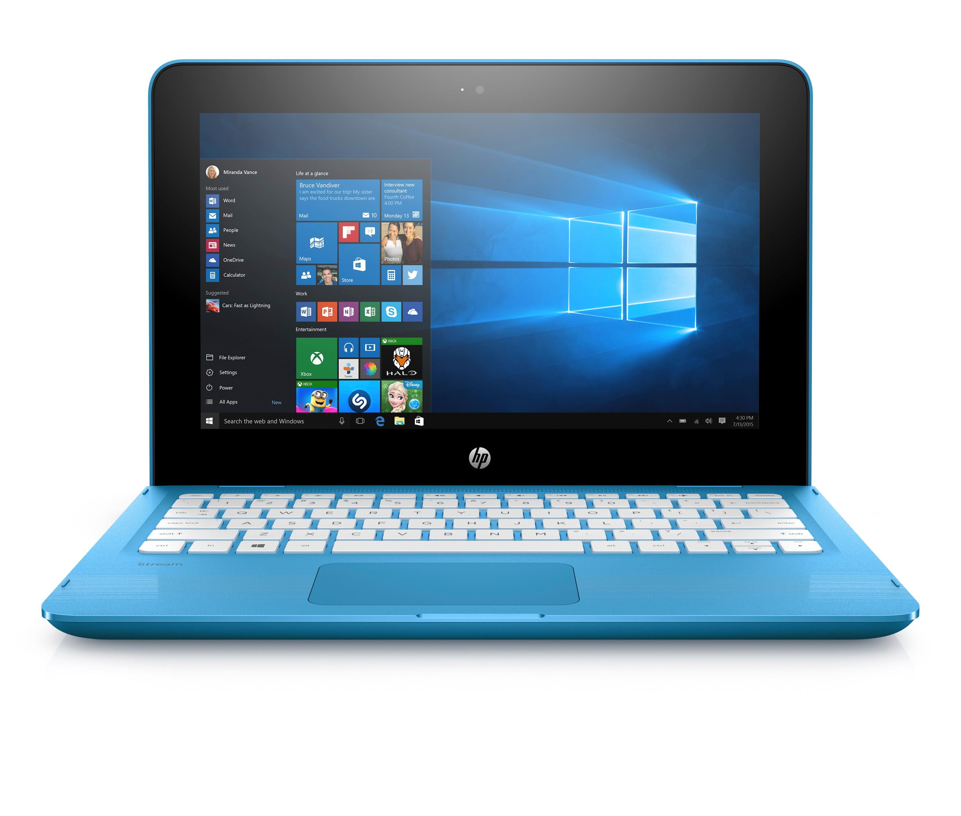HP Stream x360 11-aa000na Convertible Laptop, hp stream 11