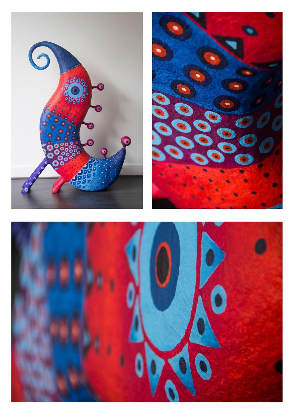 TOTEM - GustavoRamirezCruz Paper Maché Artist