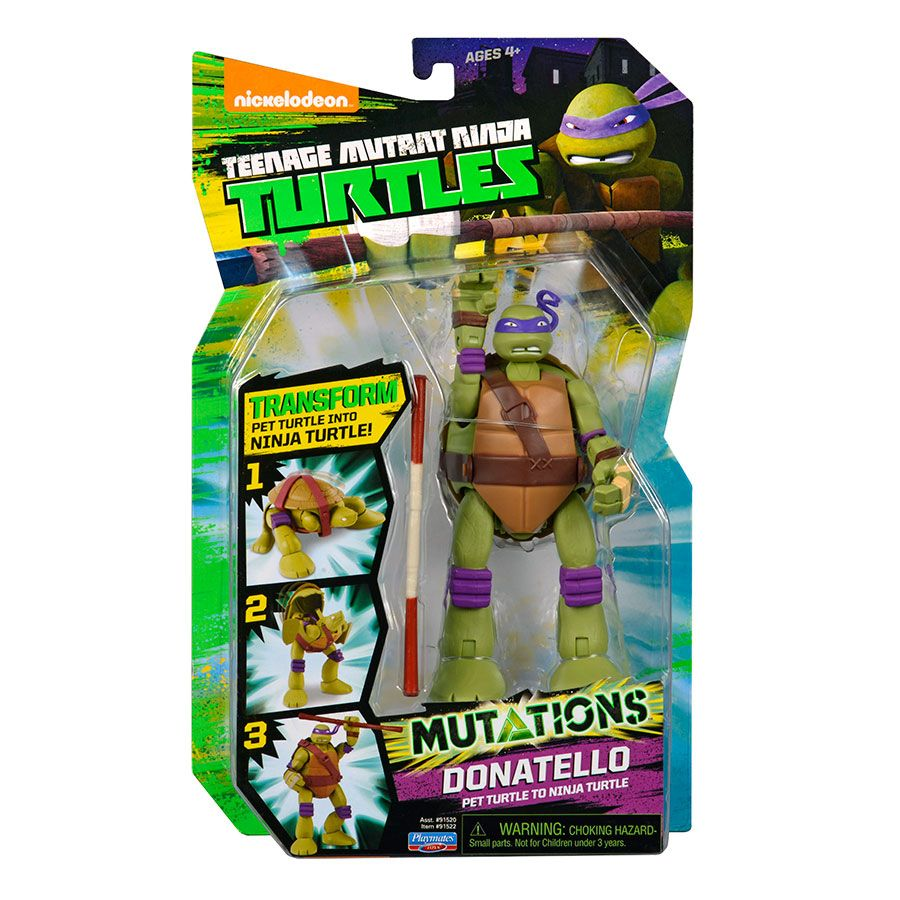 Teenage Mutant Ninja Turtle Deluxe Mutation Figure