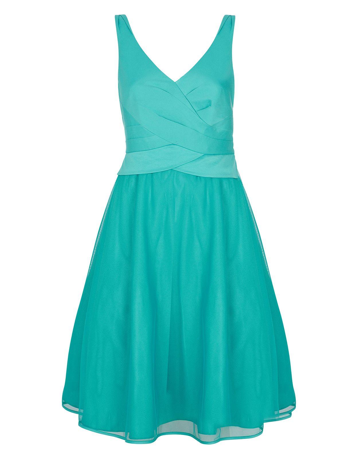 Bonnie Tulle Dress | Blue | Monsoon | Bridesmaids Dresses ...