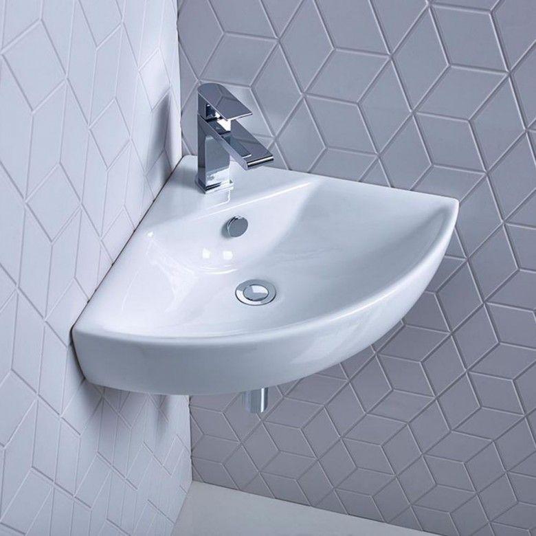 Roper Rhodes Zest 450mm Corner Basin Corner Basin Roper Rhodes Washbasin Design