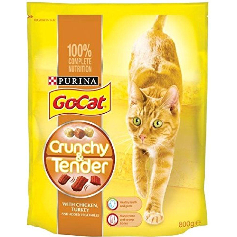 GoCat Crunchy & Tender with Chicken Turkey & Added