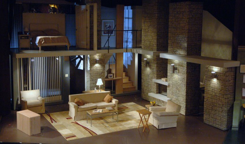 The Desperate Hours, Barter Theatre, Set Design by Richard