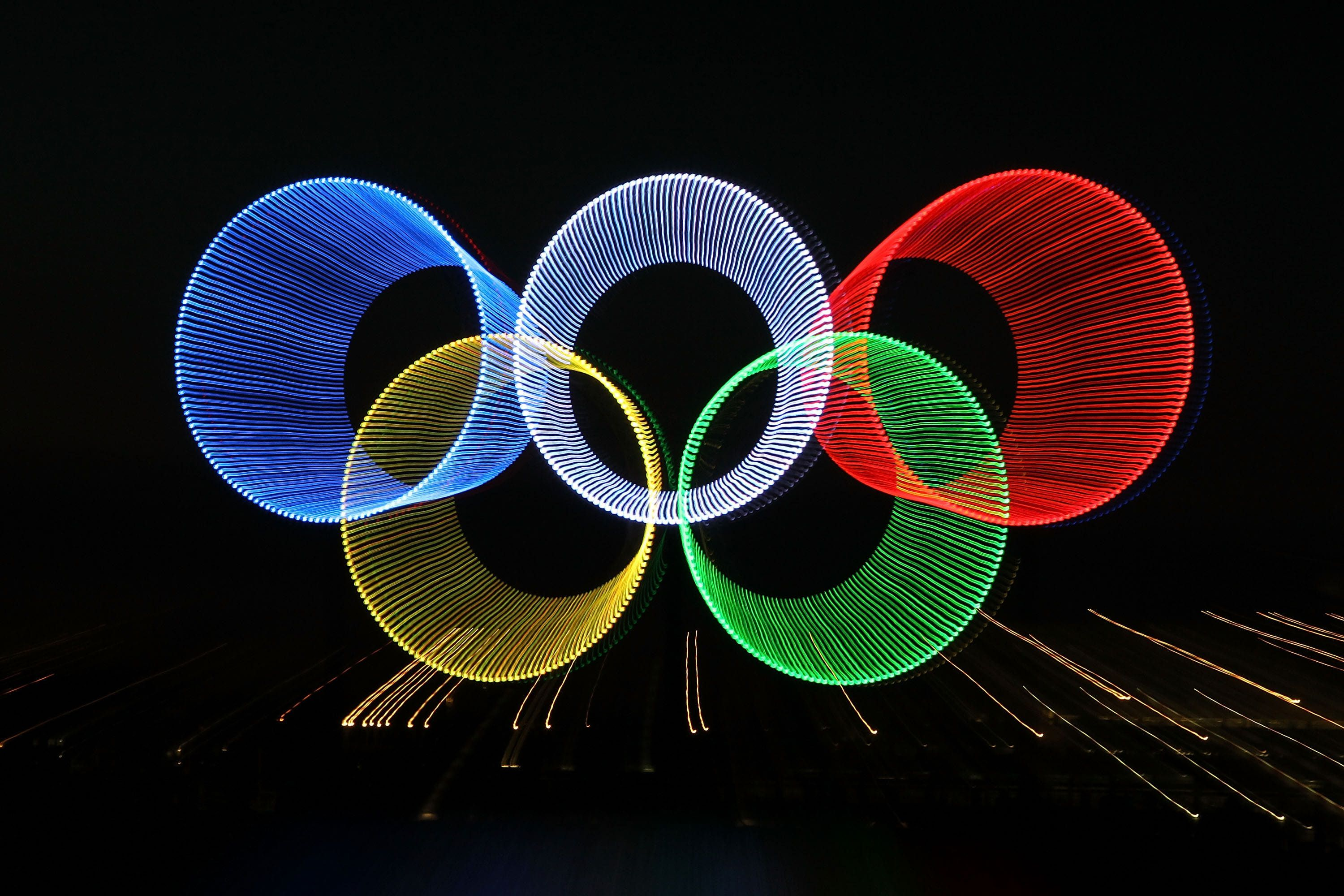 What olympic sport is a good activity for your child olympics london 2012 pic the olympic rings glowing brightly at vancouver only 35 days until gets its chance to shine biocorpaavc Images