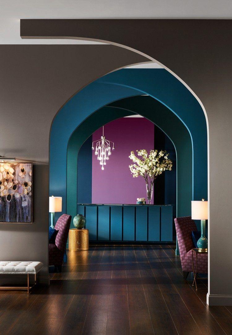 Quelle Couleur Avec Le Taupe Bleu Fonce Violet Parquet Massif Also Pour Un  Interieur Cosy Et