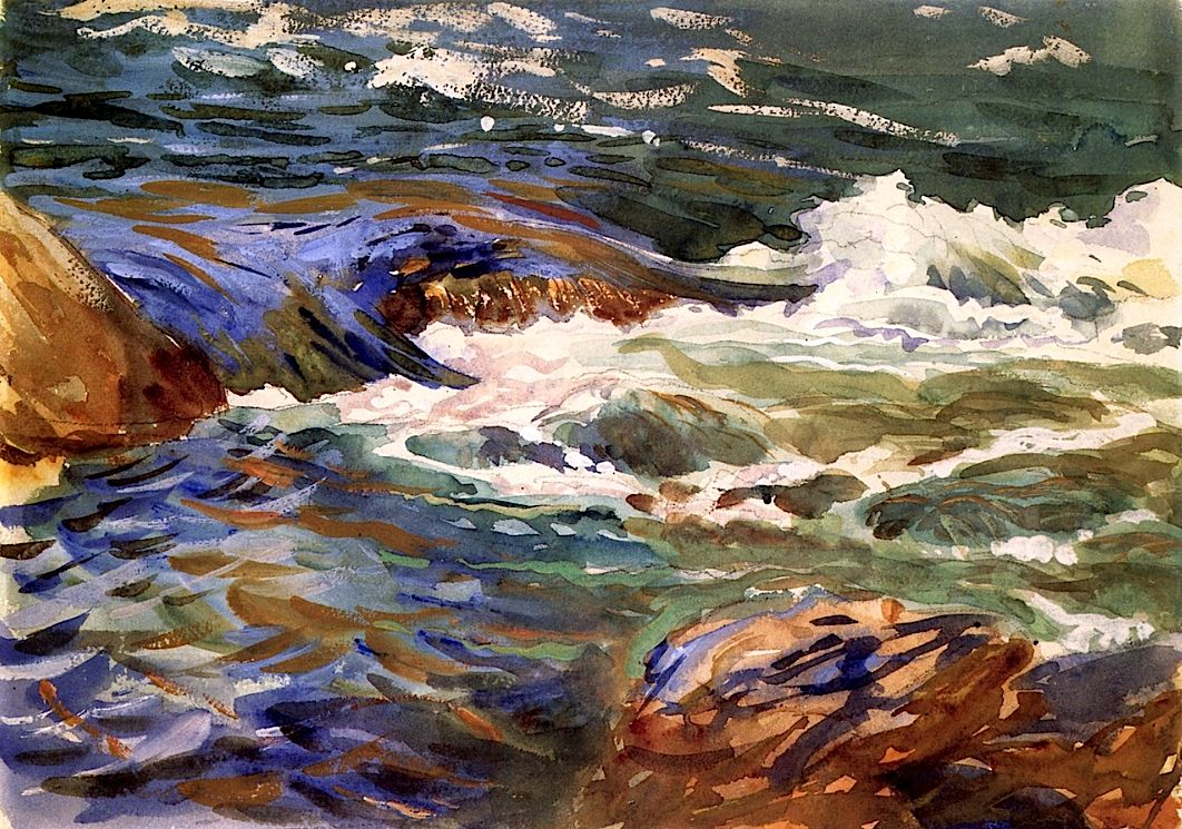 In Norway By John Singer Sargent 1901 John Singer Sargent