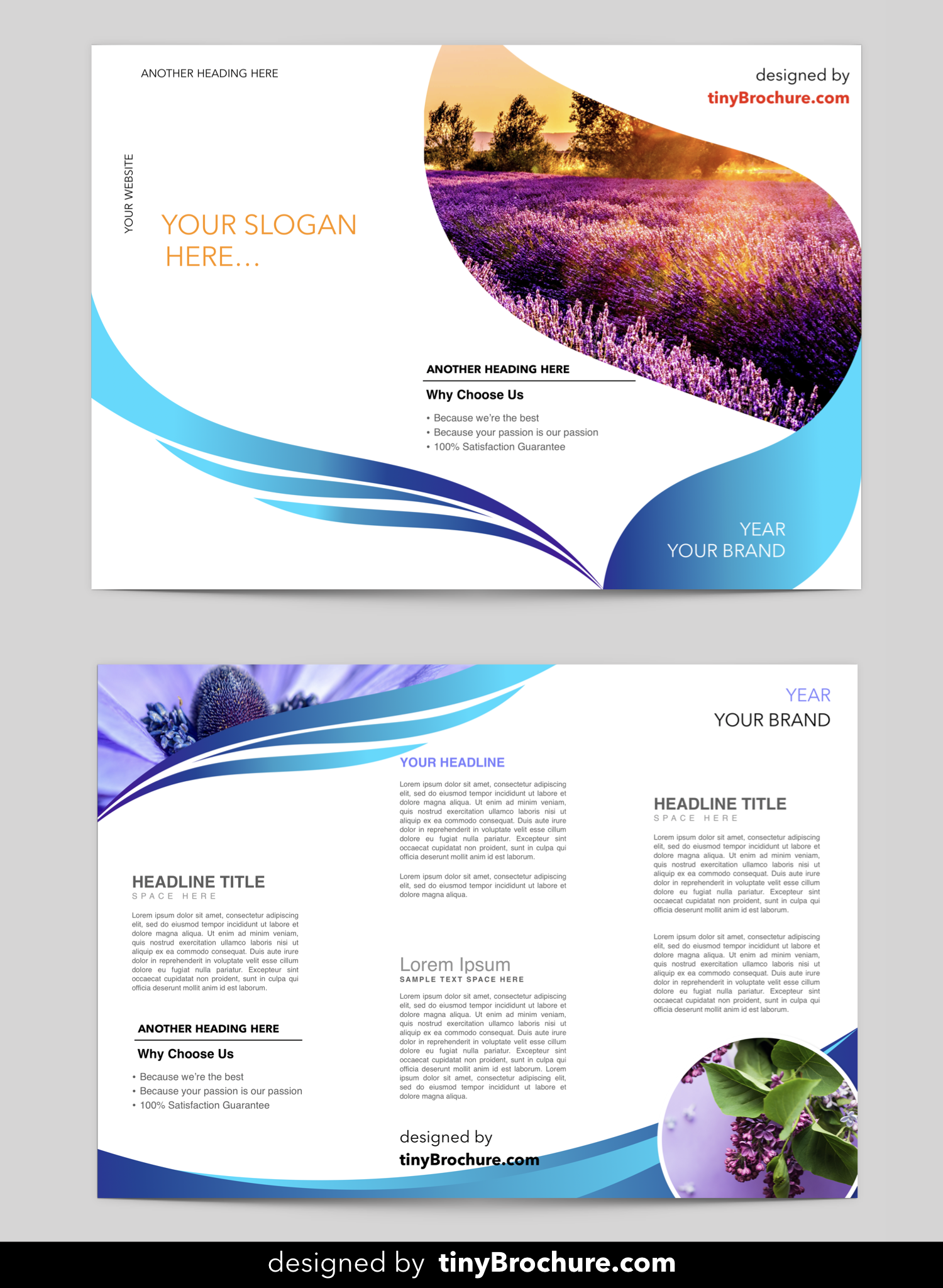 Tri Fold Brochure Template Google Slides Brochure Template