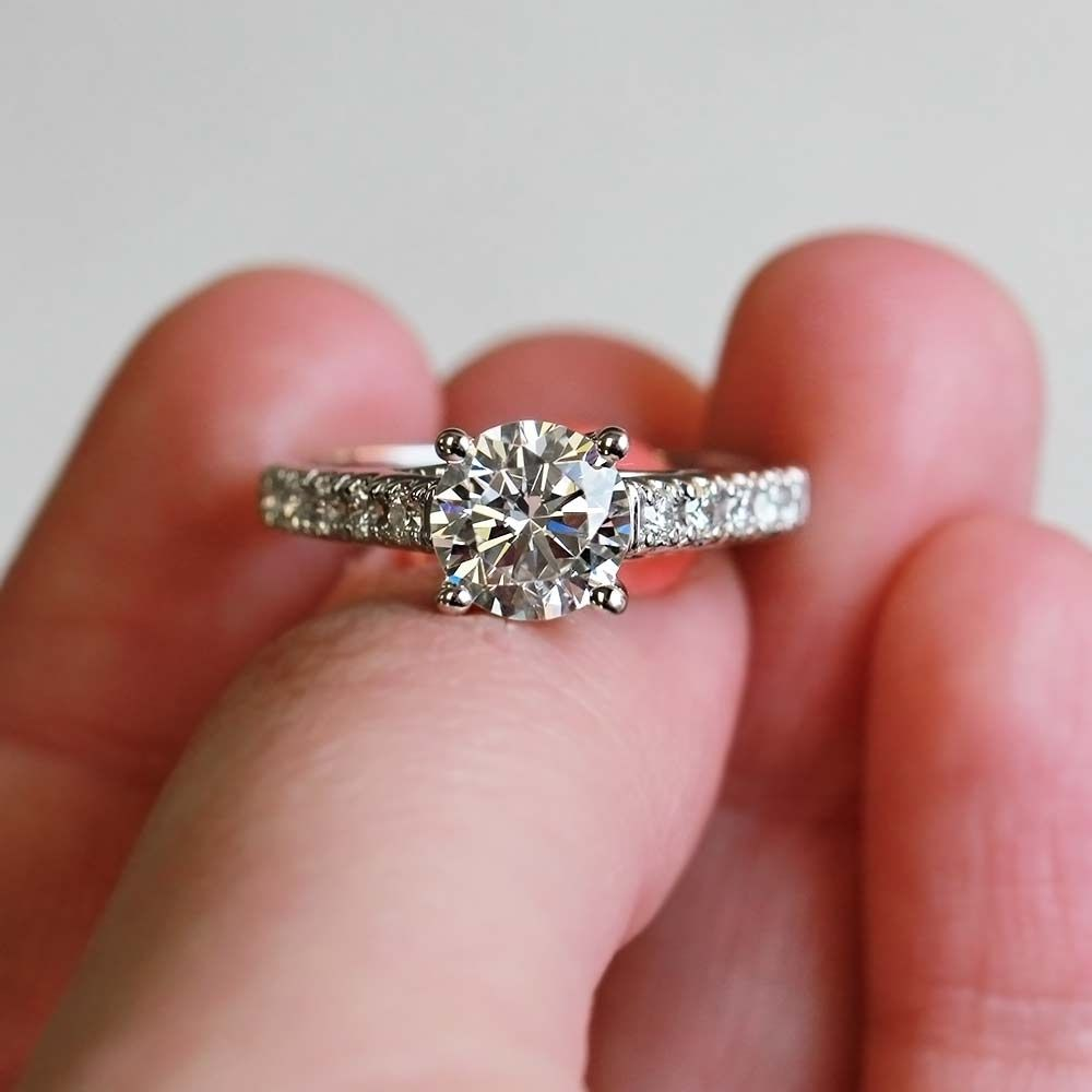 Best Man Made Diamond Wedding Rings | Ring | Pinterest | Diamond ...