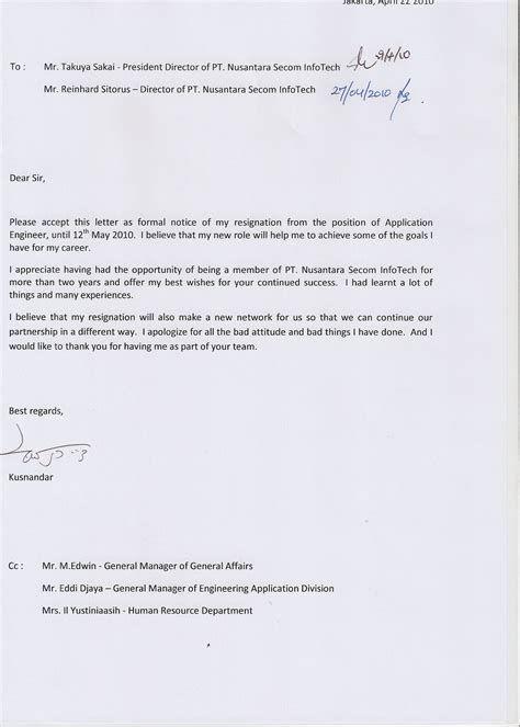 Contoh Surat Pengunduran Diri Dari Bendahara Bos Contoh Surat