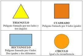 Resultado de imagen de dibujo en planta de figuras geomtricas