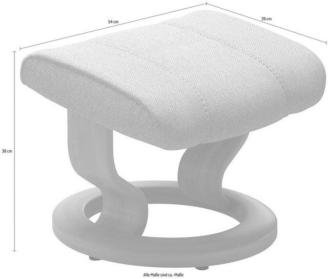 Photo of Stressless® footstool »Consul«, with Classic Base, oak frame online OTTO