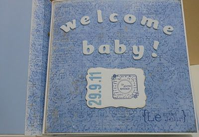 Le creazioni di Margiù: Mini album ...per new baby
