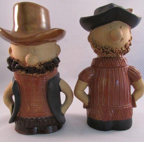 Vintage Holt & Howard Cowboy Hillbilly Salt by TimeGoneByVintage, $24.50