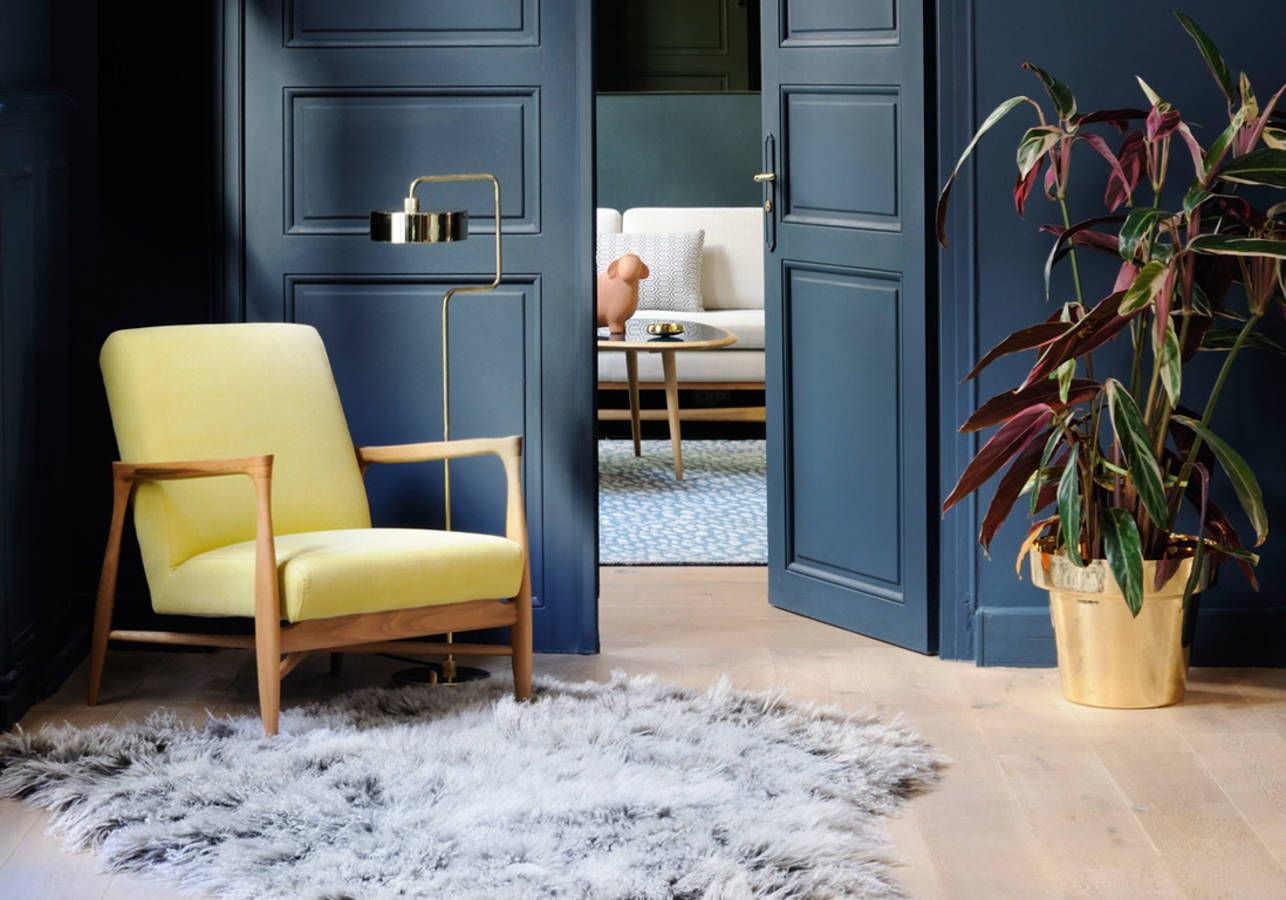 27 id es pour un int rieur chaleureux et cosy hyggelig home dark interiors blue rooms. Black Bedroom Furniture Sets. Home Design Ideas