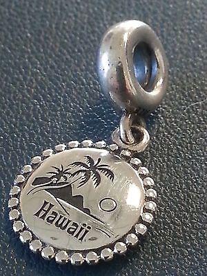 Authentic Pandora Hawaii Sterling Silver Dangle Charm Usb791169