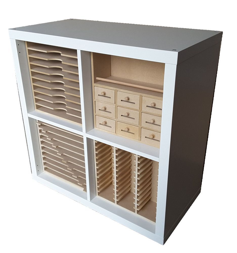 New Range Of Craft Storage Inserts For Ikea Kallax Cubes Ikea Craft Storage Ikea Crafts Ikea Craft Room