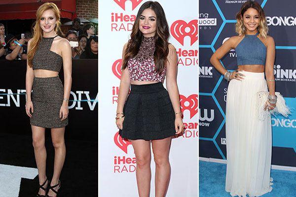 Celebrities Wearing High-Waisted Skirts