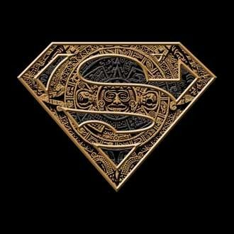 Superman logo aztec t shirt superman apparel pinterest - Symbole de superman ...