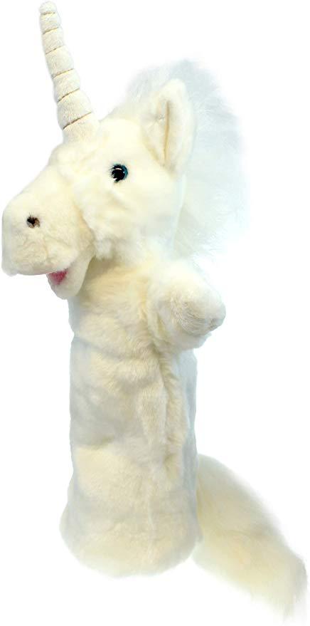 Amazon.com: The Puppet Company Long-Sleeves Unicorn Hand Puppet: Toys & Games #handpuppets