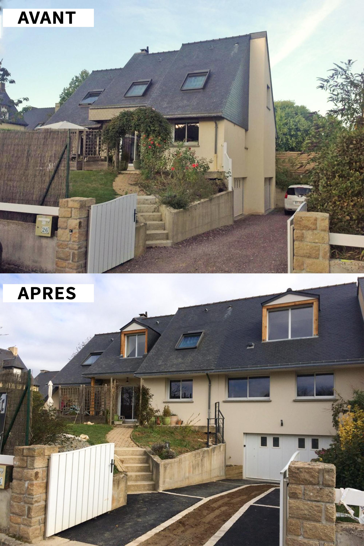Devis Extension Maison  Croix → Agrandissement Bois, Acier, Parpaing