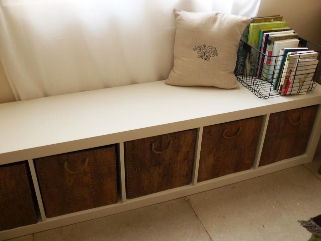 Ikea Bench Storage For Small And Slender Foyer In 2020 Storage