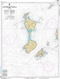 CHS Nautical Chart 4626: Saint-Pierre and/et Miquelon (France)