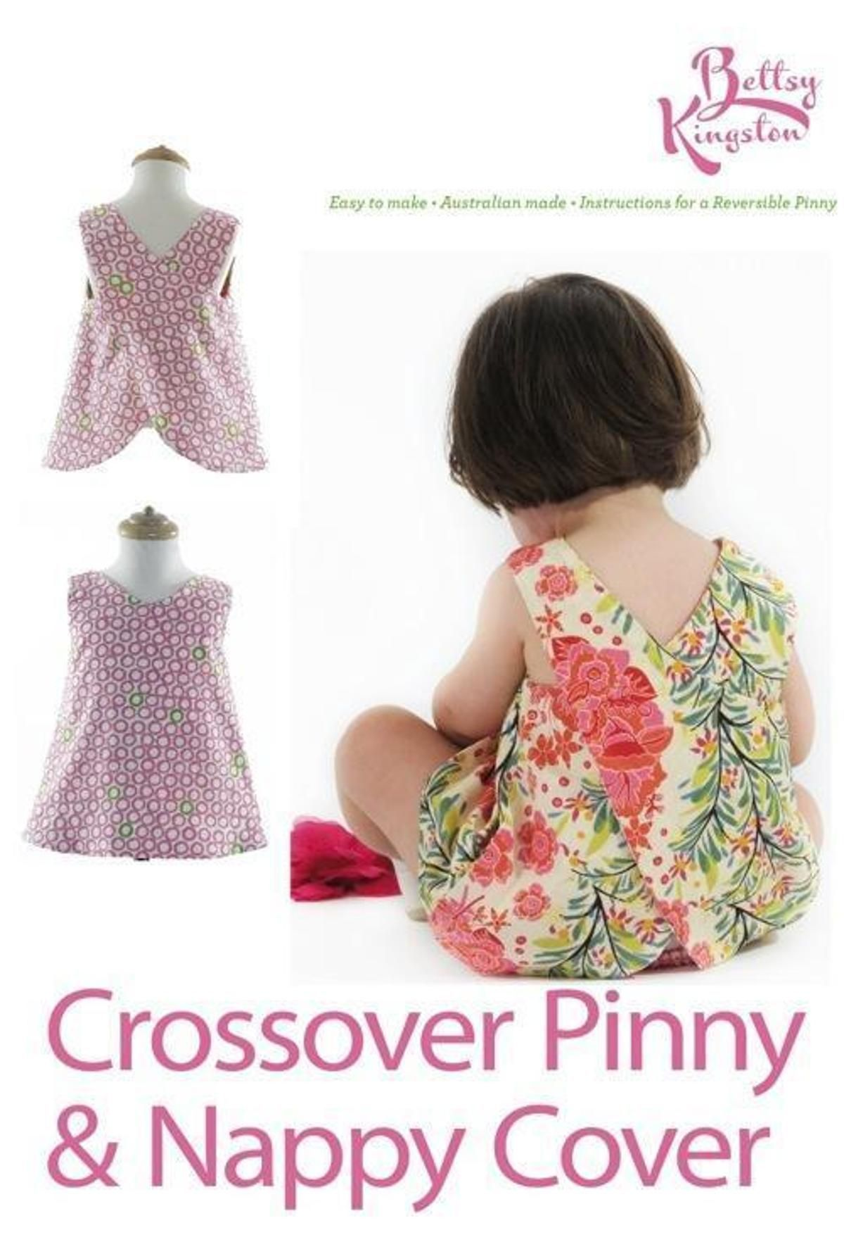 Toddler Crossover Pinny and Nappy Cover | Breien | Pinterest ...
