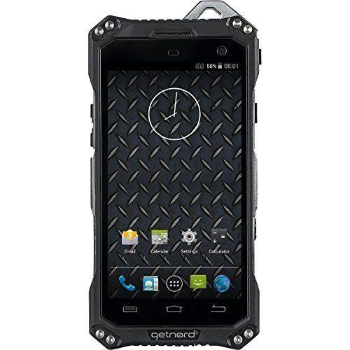 GETNORD ONYX. Telefono resistente con custodia in vero metallo. IP68. 4G LTE+