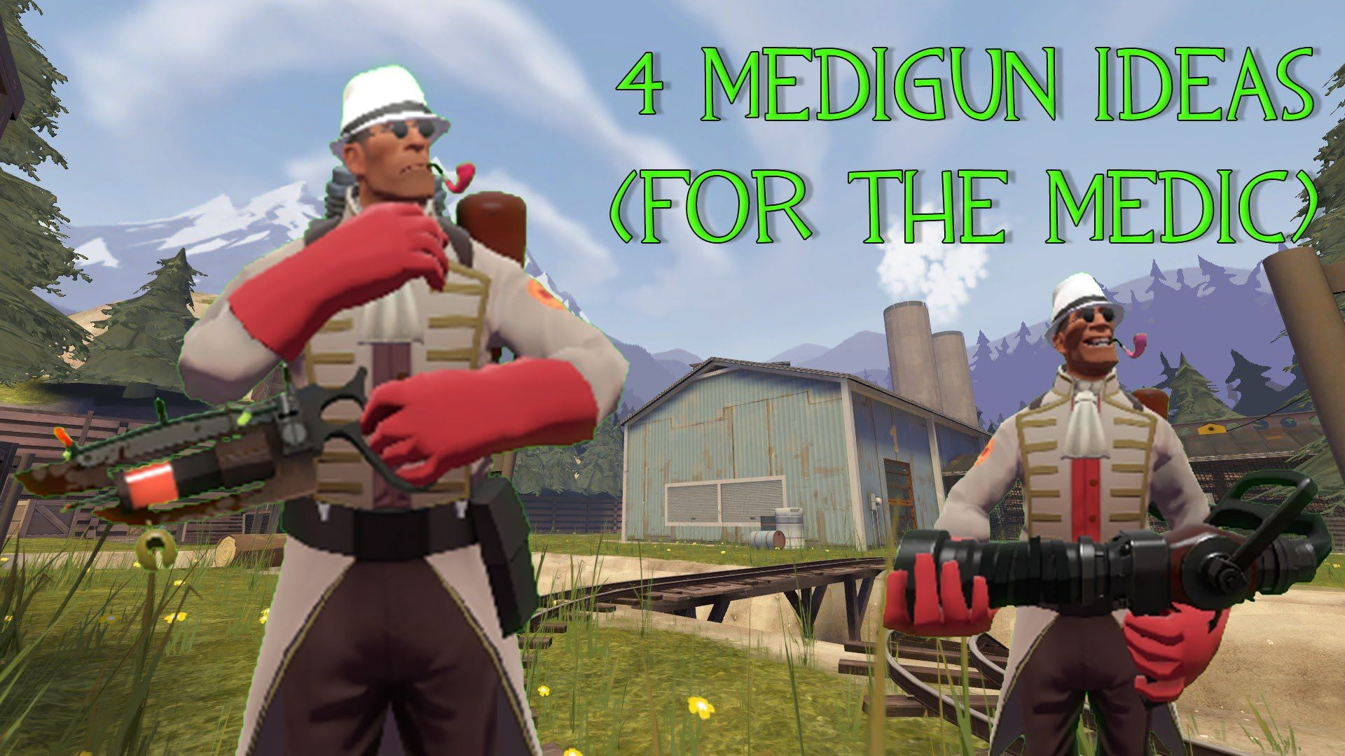 I had some Medi Gun ideas. Wonder what people think? #games #teamfortress2 #steam #tf2 #SteamNewRelease #gaming #Valve