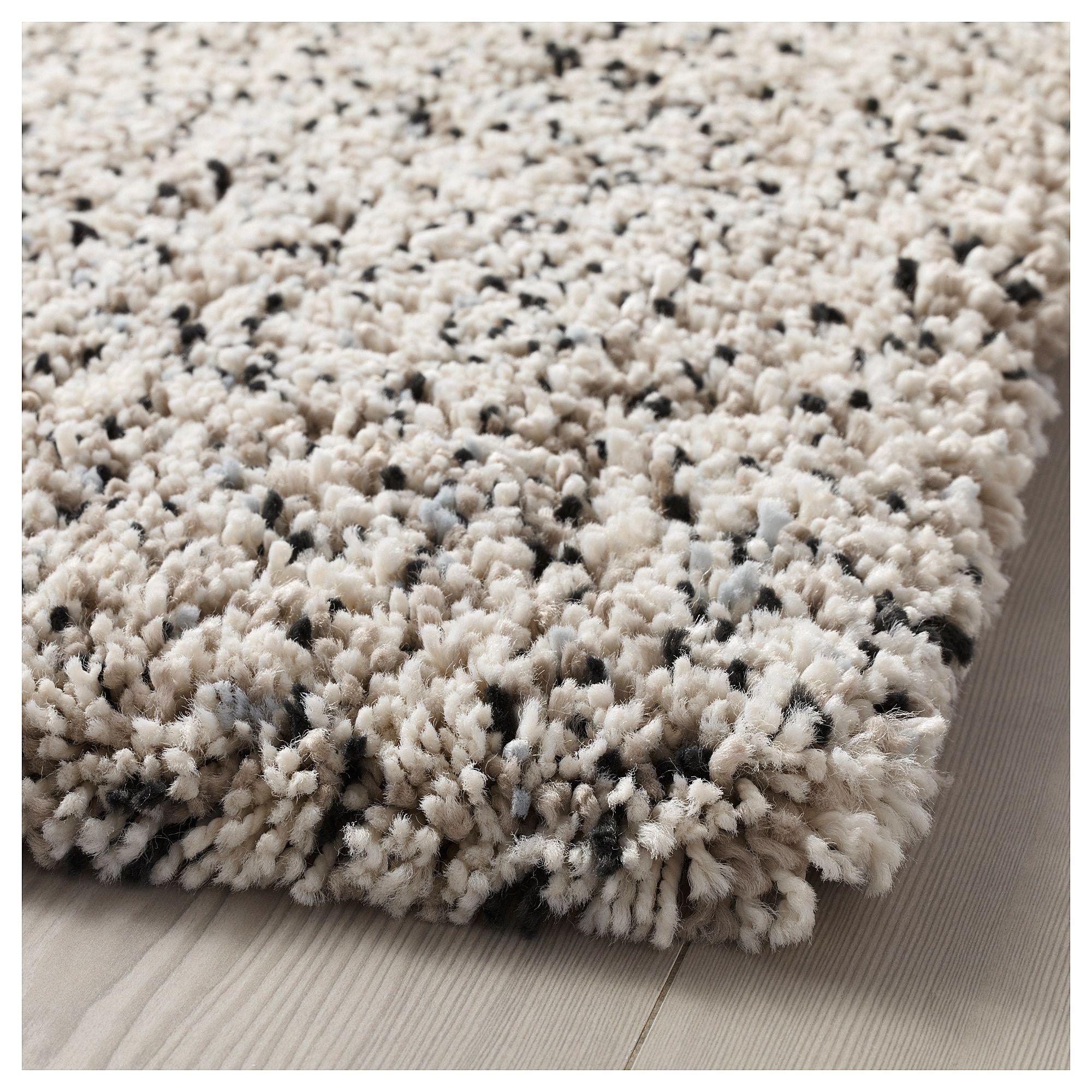 Vindum White Rug High Pile 170x230 Cm Ikea Ikea Rug Plush Carpet Rugs