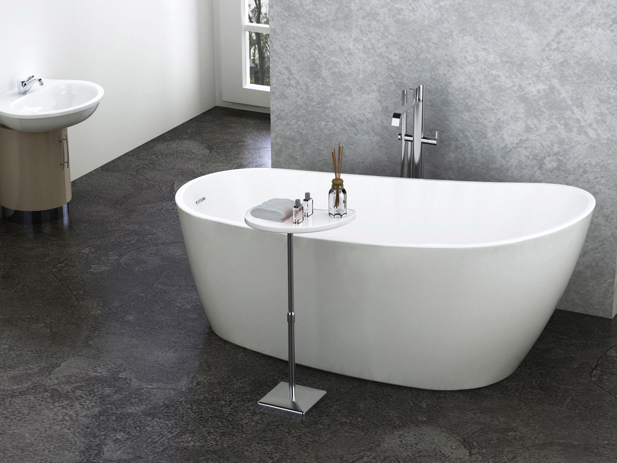 baignoire autoportante minimaliste ideale pour les espaces plus petit d un confort inegale