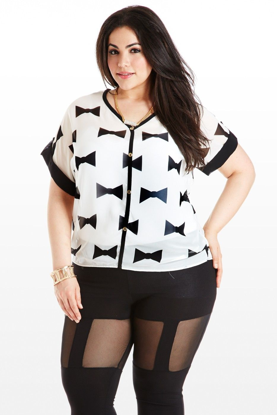 Teen Plus Size Clothing 5 best outfits - curvyoutfits.com |Teen Plus Size Fashion