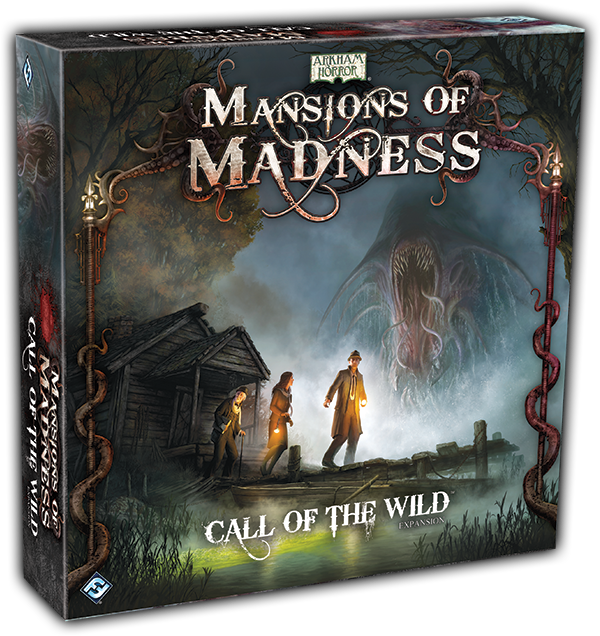 Fantasy Flight Games Mansions Of Madness Call Of The Wild Expansion Leading Publisher Of Board Card And Roleplaying Games Call Of The Wild The Expanse
