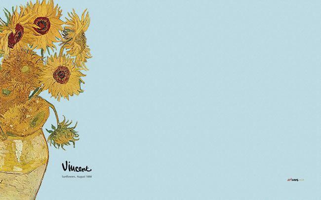404 Page Cannot Be Found Van Gogh Wallpaper Van Gogh Sunflowers Van Gogh