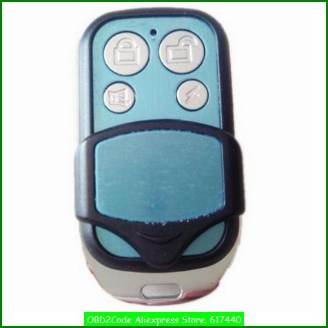 Obd2code Adjustable Frequency Self Copy Remote Control Keyless Entry