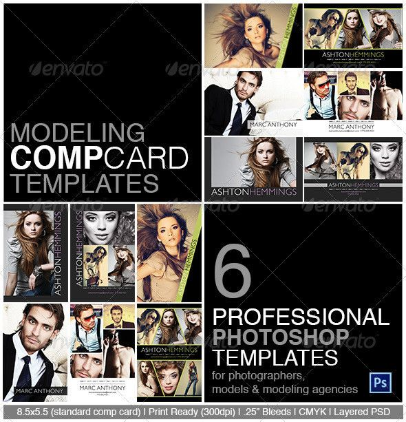 Models Actors Actresses All Need Comp Cards To Leave Behind At Auditions Model Calls And Casting Calls T Model Comp Card Card Templates Free Card Template