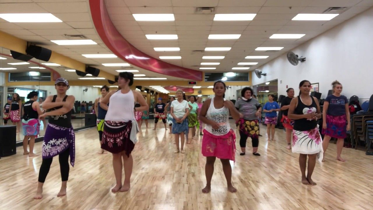 Hot hula fitness with nickie beauty and the beat legs