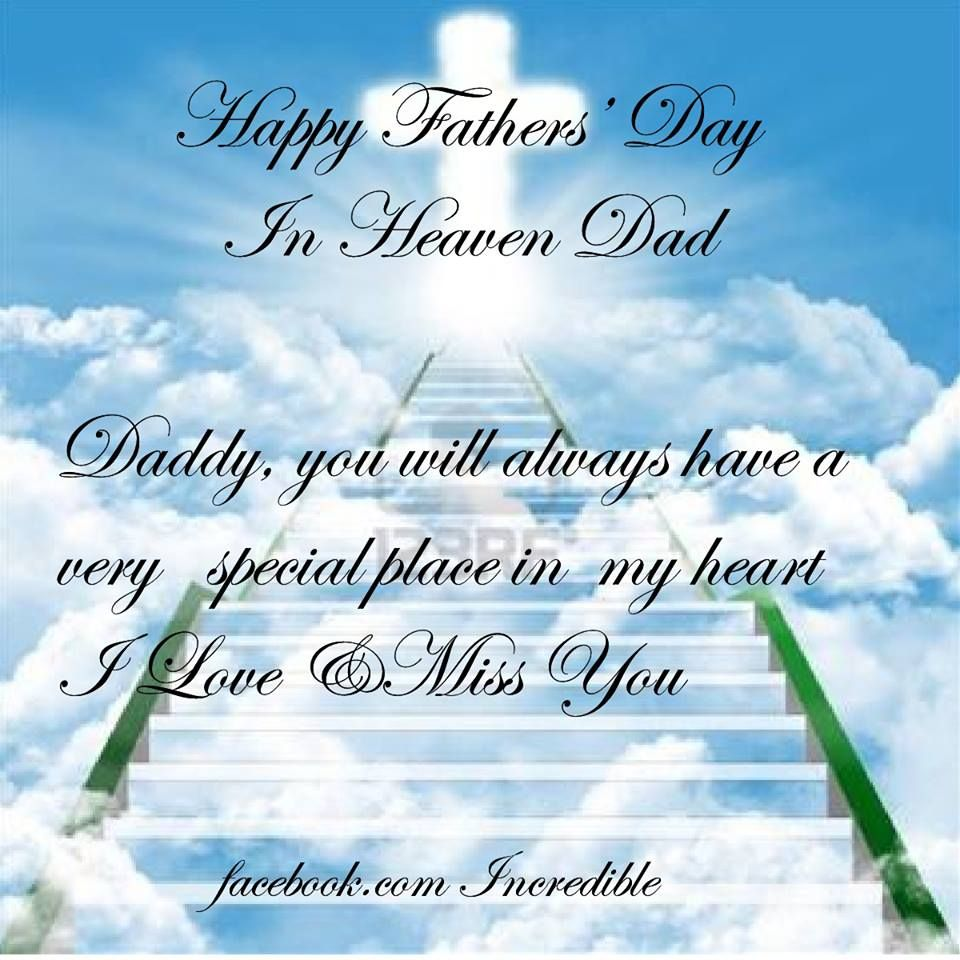 happy fayhers day from me to heaven | Happy Father\'s Day Dad ...