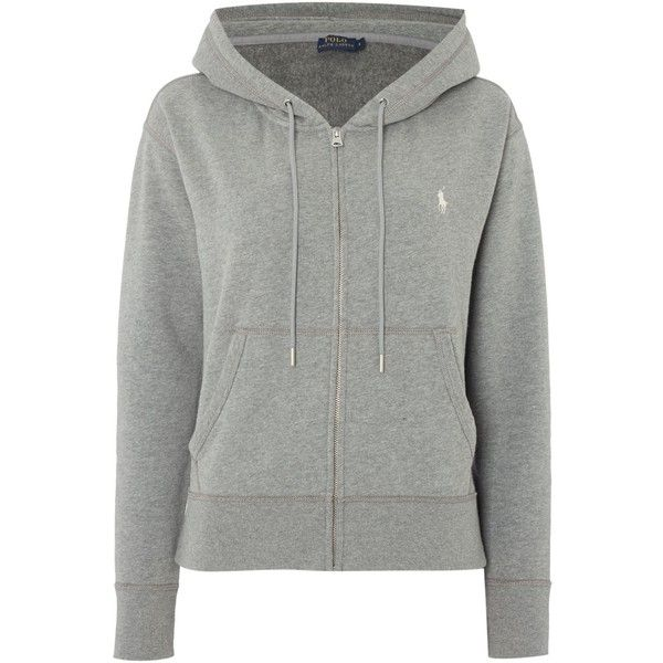 Polo Ralph Lauren Oversized Hoodie (168455 IQD) ❤ liked on Polyvore  featuring tops,