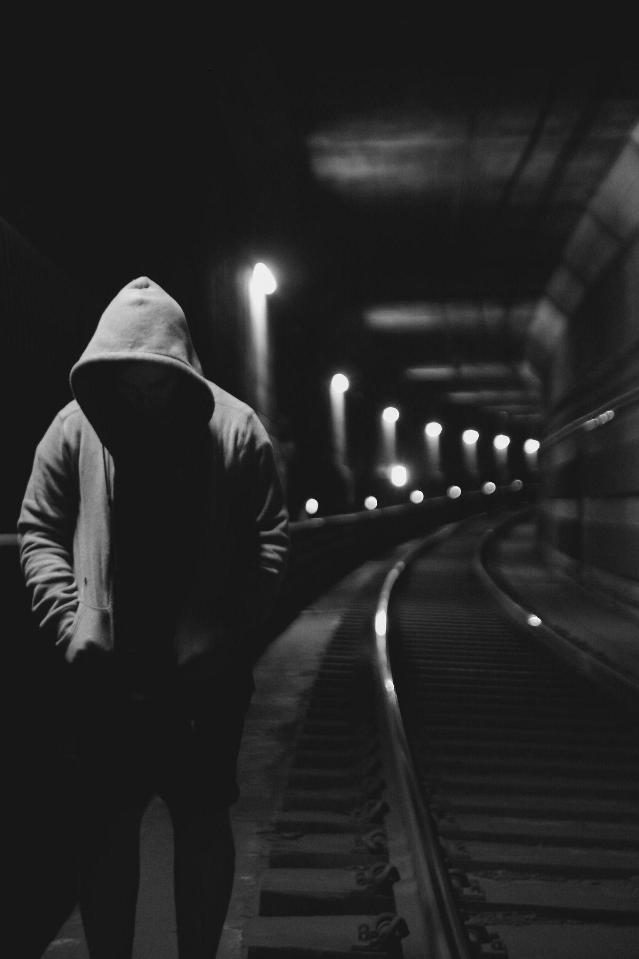 En la oscura noche dark photography street photography landscape photography