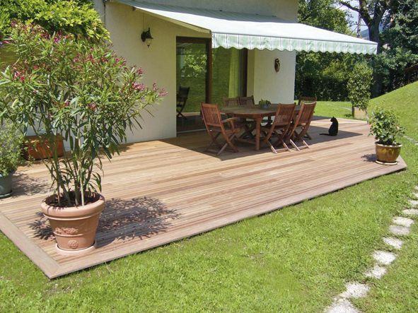 Pin by Martin Hainzl on zahrada in 2018 Pinterest Patio - Comment Monter Une Terrasse En Bois