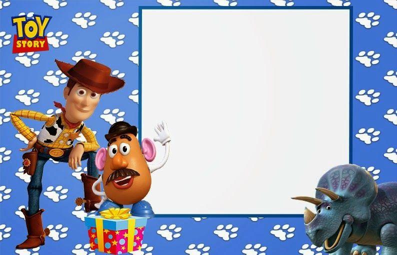 Toy Story: Invitaciones para Imprimir Gratis. | Toy Story Party ...