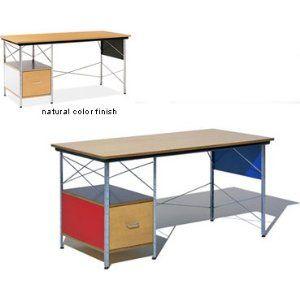 Eames Desk In Color Black White