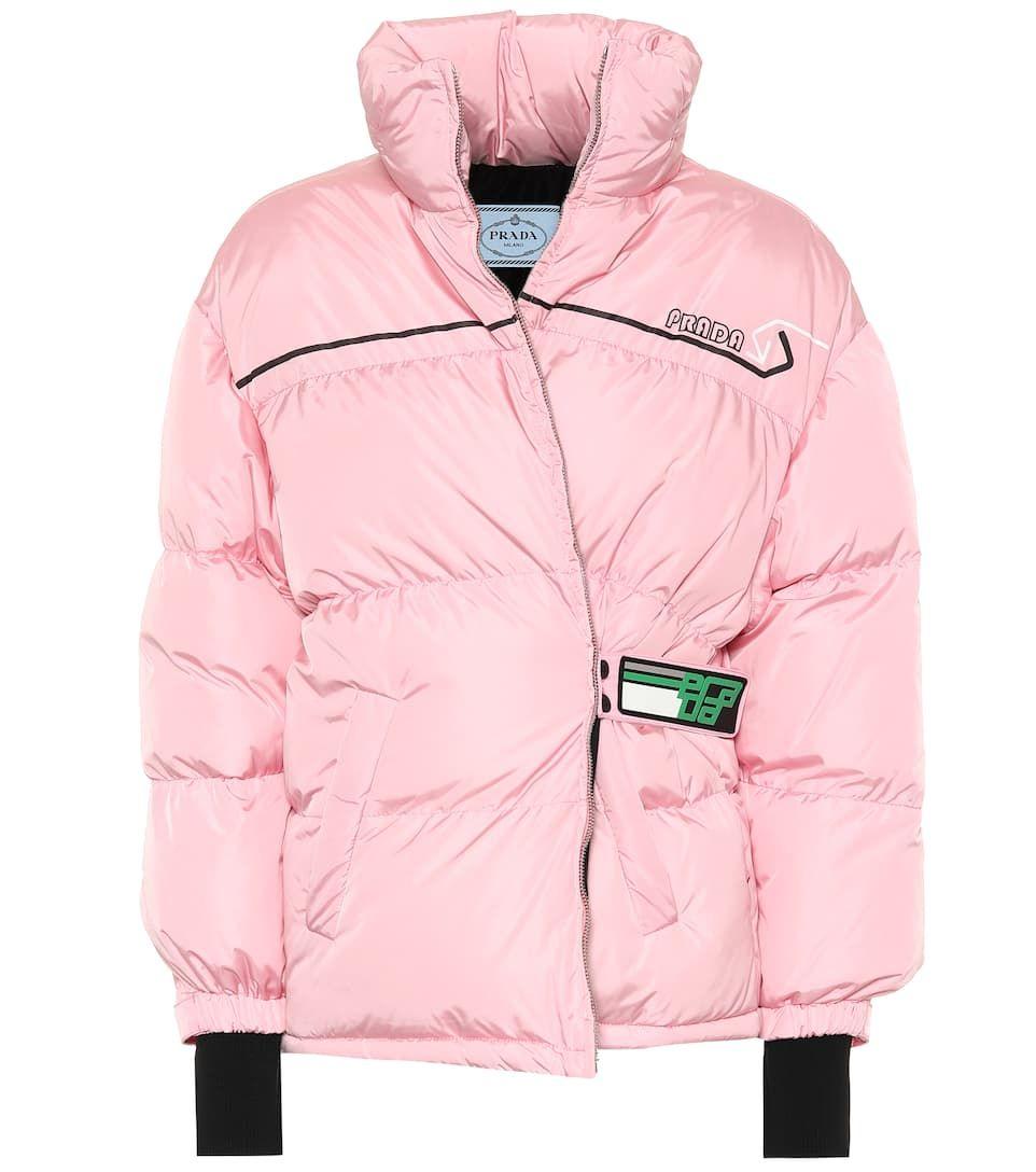 6e9ada9ec3 Quilted nylon down coat | WALKIES | Down coat, Coat, Winter jackets
