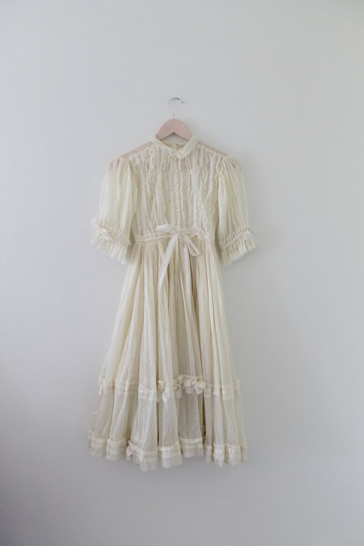 White lace dress vintage  Pin by Punkie Smith on Clowncore  Pinterest  Fairy dress Vintage