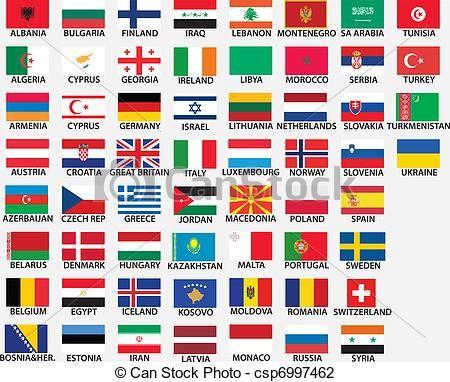 Bandeiras Da Europa Oriental Com Legendas Pesquisa Google